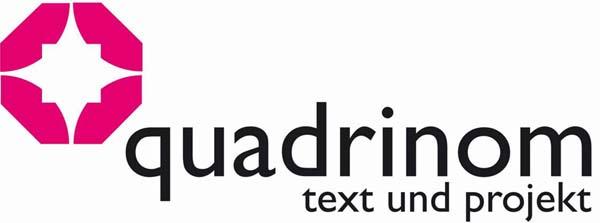 Logo quadrinom text und Projekt GbR