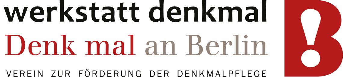 Logo werkstatt denkmal
